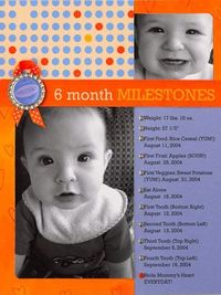 Find great scrapbook page ideas for documenting your baby's development with this collection of layouts that cover all of Baby's important firsts.