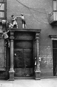 1940's The Bronx - Do you know where your children are?