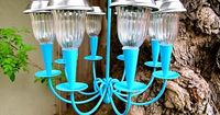 Make a cute solar powered outdoor chandelier for your backyard. Use a thrift store find or an old light fixture for the DIY project. Home Jelly shows you how. ||