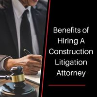 A Construction Litigation Attorney is also known as construction litigators. This type of lawyer is hired to seek legal guidance in cases such as workmanship claims, construction liens, bond claims, construction defects and delays, job abandonment dispute...