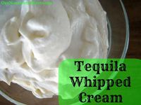 tequila whipped cream