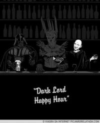 Dark Lord Happy Hour.