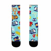 FLCL Anime Pattern US Size 7-13 Socks $17.99 �œ� Handcrafted in USA! �œ� Support American Artisans