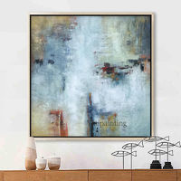 Framed wall art Modern Abstract painting acrylic paintings on canvas art Wall Art Pictures Home Decor $104.75