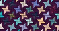 Lets Quilt Something: Glistening Star - Free Quilt Pattern - Jelly Roll