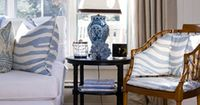 The Enchanted Home: blue and white