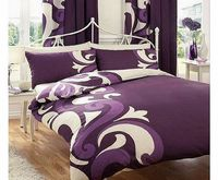 Gaveno Cavailia PRINTED DOUBLE BED DUVET DOONA QUILT COVER BEDDING SET PILLOWCASE GRANDEUR BERRY *Material - 50% Cotton / 50% polyester *Double Size - 198cm x 198cm approx *Machine Wash / low tumble dry *Shades may vary on different monitors (...