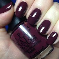 love this color OPI Boris & Natasha #nail #nailpolish