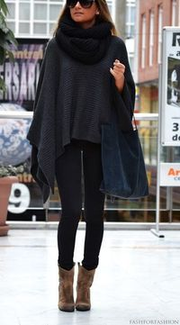 something I have to have now (not the bag but the big poncho - I have the leggings and short boots...........