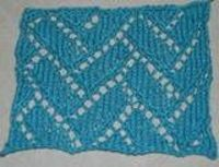 Flemish Block Lace is a lovely knitting stitch that is not actually the difficult to accomplish, though it does require your attention as you knit. It would mak