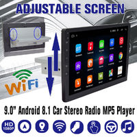 9 Inch 1G+16G Adjustable Touch for Android 8.1 Car Radio Stereo 1Din GPS Navigation