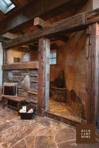 Rustic Bathroom..what??? More