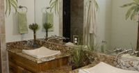 eclectic bathroom by Blue Sky Building Company