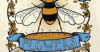 �œ� Plant Organic Flowers �œ� #savethebees #loveyourmama #soulflower