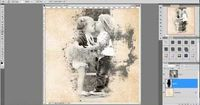 Digital Scrapbooking Photoshop Tutorial: Blending Photos into Backgrounds using Brushes as Masks - YouTube