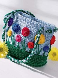 Ravelry: Flower Garden Purse pattern by Frances Hughes...