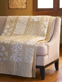 neutral quilt - sometimes simplest is best..