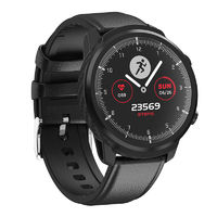 Bakeey L3S Full Touch Heart Rate Blood Pressure Monitor Multi-sport Modes IP68 Waterproof Screen Smart Watch