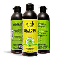 Liquid Black Soap w/Lemon Grass Essential Oil, 16 Fl. Oz.  7 BENEFITS OF USING LIQUID BLACK SOAP DAILY:  100% NATURAL DEEP TISSUE CLEANSE COMBATS ACNE & ECZEMA- SHAMPOOS EXCEPTIONAL LATHER PH BALANCED AUTHENTIC FRAGRANCE  But this http...