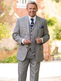 The Prince of Wales Suit... a classic.  http://www.peterchristianoutfitters.com/suits/prince-of-wales-suit