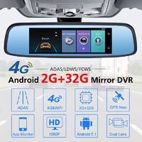 Junsun K756 7.86 Inch 2+32G 4G Full HD 1080P Android ADAS Bluetooth Video Recorder Car Mirror DVR Camera