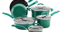 but i actually NEED this, even if it is Rachel Ray Rachael Ray 10 Piece Porcelain Cookware Set - Green