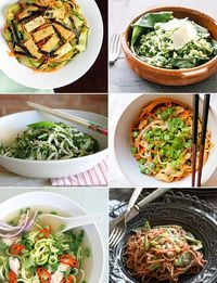 Here's a fun way to get your daily dose of vegetables: turn them into noodles. Not sure where to start? We rounded up the best, most creative veggie-noodle dish