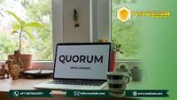 A quorum may be a step towards the mass adoption of blockchain among financial industries. Quorum is permissioned blockchain platform supported ethereum focussed on enterprises and specifically designed for the financial sector. Quorum Blockchain is made ...
