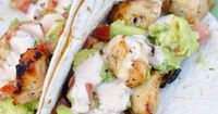 Free Delicious Recipes: Grilled Chicken Tacos with Spiced Mayo and Avocado Salsa