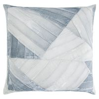Seaglass Pleated Velvet Pillow by Kevin O'Brien Studio $315.00