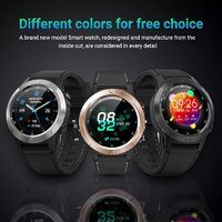 M4C 1.3 inch Full Touch Screen Wristband Compass Barometer Altimeter Heart Rate Monitor Multiple UI Outdoor Smart Watch
