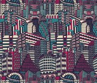 Deco City fabric by teja jamilla on Spoonflower - custom fabric