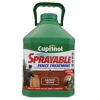 Cuprinol Sprayable Fence Treatment Harvest Brown The fastest and easiest way to colour and protect your fence. Treats a panel in less than 4 minutes! http://www.comparestoreprices.co.uk/home-improvement/cuprinol-sprayable-fence-treatment-harvest-brown.asp