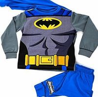 Lora Dora Kids Boys Fancy Dress Up Play Costumes / Pyjamas Nightwear Pjs Pjs Set Batman Party Size UK 7-8 Year No description (Barcode EAN = 5052906857726). http://www.comparestoreprices.co.uk//lora-dora-kids-boys-fancy-dress-up-play-costumes--pyj...