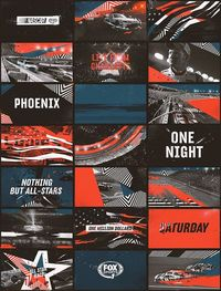 Nascar by Sebastian Onufszak, via Behance