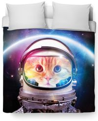 Space Cat Duvet Cover $120.00