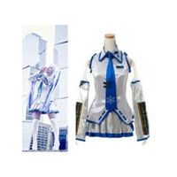 Vocaloid Hatsune Miku Snow Cosplay Costume