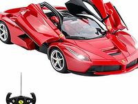 Comtechlogic Official Licensed CM-2143 1:14 Ferrari LaFerrari Radio Controlled RC Electric Car with opening doors No description (Barcode EAN = 5060241846763). http://www.comparestoreprices.co.uk/december-2016-week-1/comtechlogic-official-licensed...