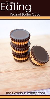 Peanut Butter Cups #CleanEating