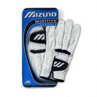 Mizuno SKINTITE LEATHER GLOVE RH Player / Small MIZUNO SKINTITE LEATHER GLOVE The Mizuno SkinTite Leather Gloves Feature: Mizunos lightest 0.40 - 0.50 mm thin leather. Silver Tanning Process for durability. Pre-Curve palm. Mizuno FlexMesh inse http://www....