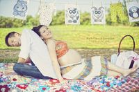 A maternity shoot taken few weeks ago. Thank you the couple, Rachel and Jason for coming back from Singapore to have this shoot. They had carried all the props