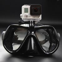 Underwater Camera Anti Fog Diving Mask Snorkel Swimming Goggles Seal Dive Equipment for GoPro Drop Shipping $17.99