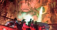 Indiana Jones Adventure, Disneyland, California. My record is six times ridden in one trip. I want to go back :)