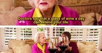 Betty White. Seriously, where can I get one of those glasses!?