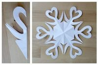 How to Make a Paper Snowflake Tutorial by Alphamom