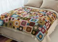 Garden Patch Granny Afghan Tutorial: National Craft Month Project &