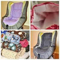 Car Seat Cooler Booster Seat Cooler Heat by SquigglesandWiggles, $40.00