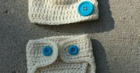 Check out this item in my Etsy shop https://www.etsy.com/listing/248529392/newborn-crocheted-hat-and-diaper-cover #clothdiaper #diaper #winter #crochet #white #blue #newborn