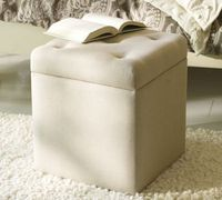 build large version of upholstered box with lid similar to Alison Upholstered File Cube from Pottery Barn