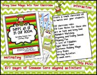 """""""There's An Elf In Our Room: Spreading Common Core Literacy Magic"""" by Kindergarten Crayons"""